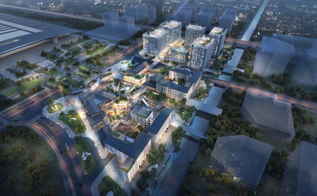 华润置地·中央车站广场